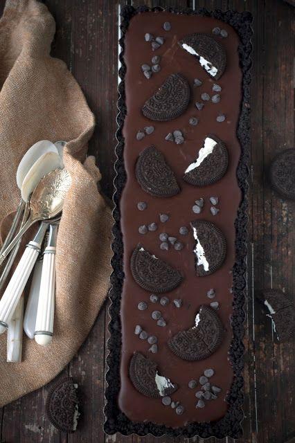 Hap & tap: No bake chocolade Oreo taart