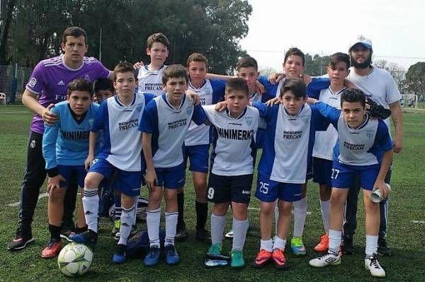 Se disputó la final del Campeonato de Liga de Escuelas de Fútbol Infantil