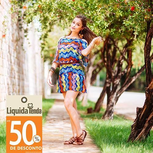 😁 Alegria que não tem preço: ficar linda inteira comprando um look pela metade do valor. 💲 #LiquidiaTendaVerão2017  💝 E, por falar em ficar linda, confira nossas dicas de moda: www.lojastenda.com.br/blog/