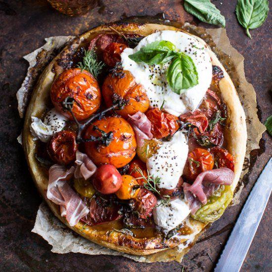 Easy Tomato Tarts