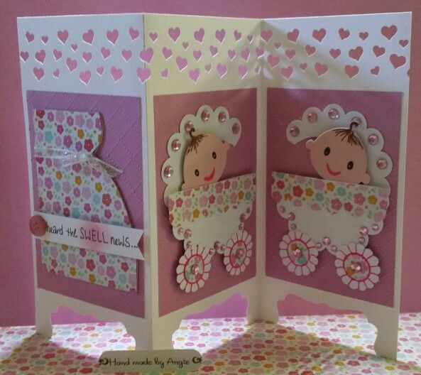 Screen Divider Baby card by AngeLuvs2Craft