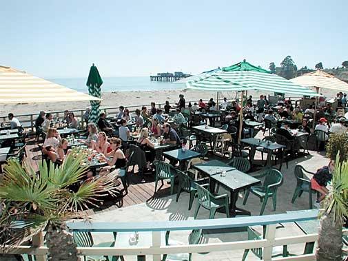 Zelda's On The Beach, Capitola - Sunday brunch