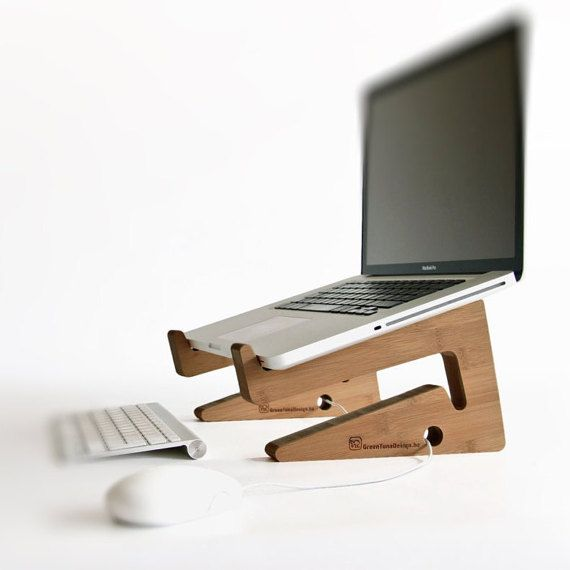 new bamboo puzzle laptopstand  / TechNews24h.com