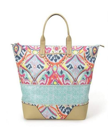 new getaway bag.. contact me for details on ordering!!!  Expands in a zip for spontaneous shopping during your travels.