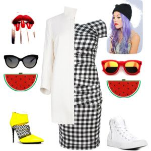 """Two slices"" by letsplaydiy on Polyvore"