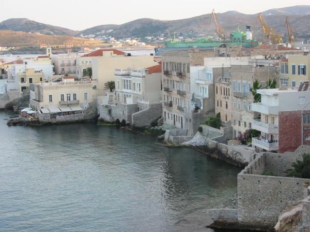 Vaporia district, Ermoupoli, Syros #syros
