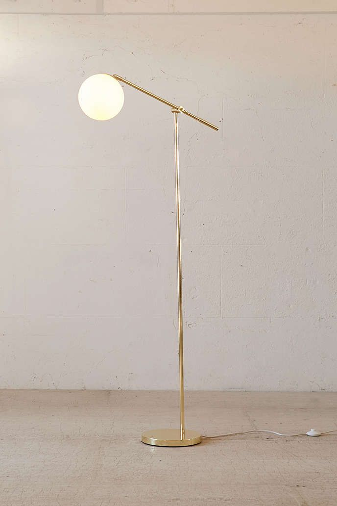 Globe Floor Lamp - Urban Outfitters I need this....