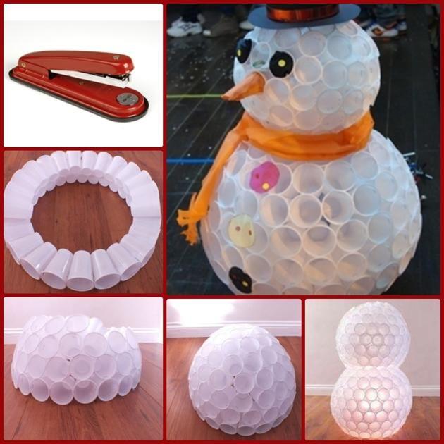 M s de 1000 ideas sobre adornos navide os hechos a mano en - Arbol de navidad hecho en casa ...