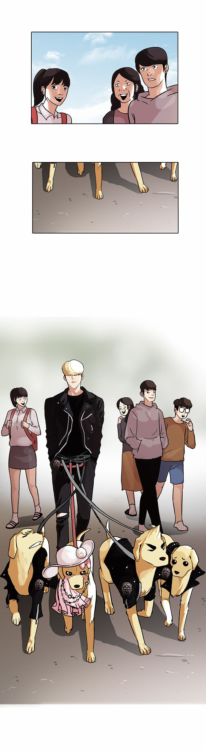 Dating was the easiest manhwa BIG SHOTS