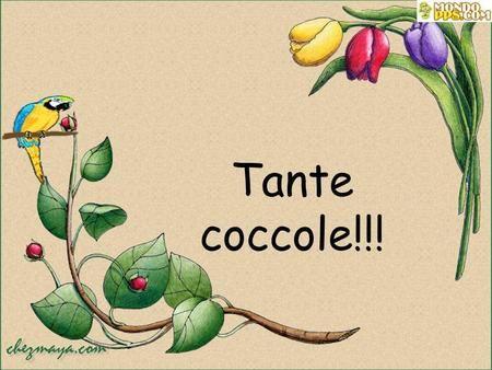 Tante coccole!!!.