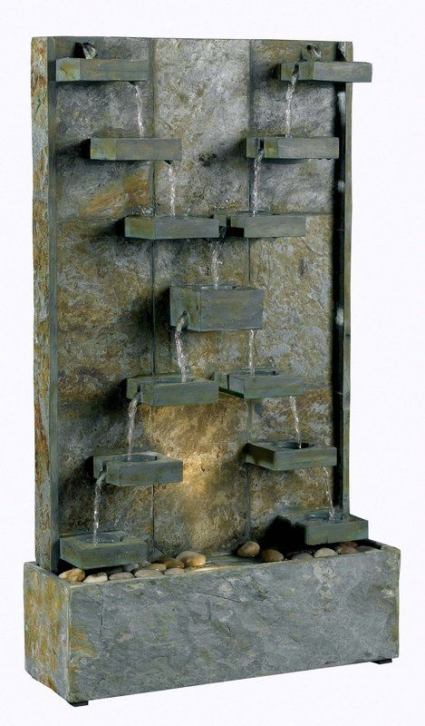 """View the Kenroy Home 50375 Watercross 33"""" High Outdoor Floor Fountain at Build.com."""