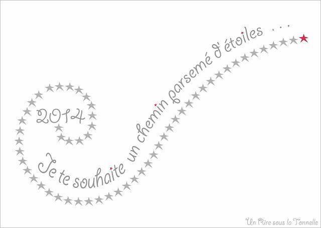 New Year Card / Carte de vœux by Un Rire sous la Tonnelle © Sonia FIQUET