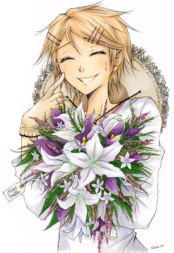 Black Butler ~~ Ultra-sweet fanart! :: Flowers from Finnie by meadow-rue.deviantart.com on @deviantART
