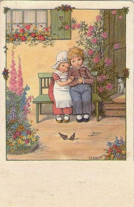 Pauli Ebner (1873-1949) — Old Post Cards (453x700)