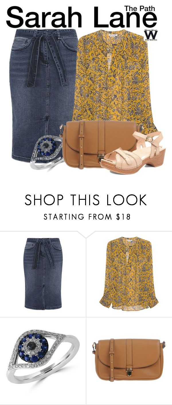 """""""The Path"""" by wearwhatyouwatch ❤ liked on Polyvore featuring George, Étoile Isabel Marant, Effy Jewelry, MICHAEL Michael Kors, Dansko, television and wearwhatyouwatch"""