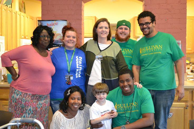 Student Activities Committee Volunteers at Ronald McDonald House | Sullivan University Louisville