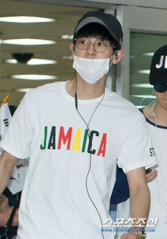 Chanyeol | 150707 Gimpo Airport arrival from Tokyo