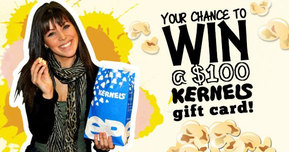 Love popcorn?  Re-pin and click here to WIN a $100 Kernels Gift Card!!!http://womenfreebies.ca/contest/win-a-100-kernels-gift-card-fb/?kernels