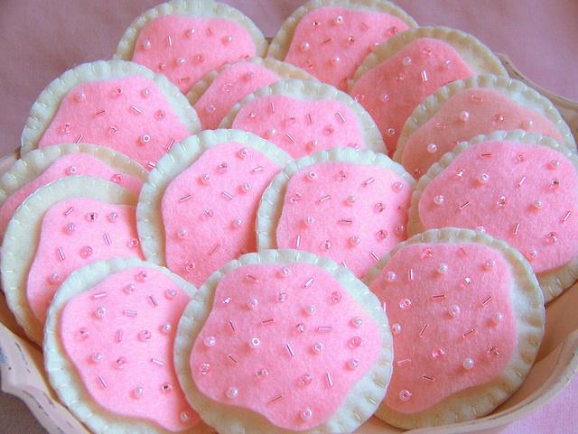 Pink sugar cookie recipe