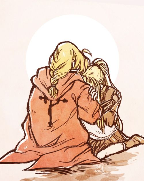 torisora: our equivalent exchange i just finished full metal alchemist brotherhood for the second time and im a bucket of tears that was more emotional the second time and idgi nothing can beat fmab in my book wow (´;ω;`) will purge my feelings thru fanart