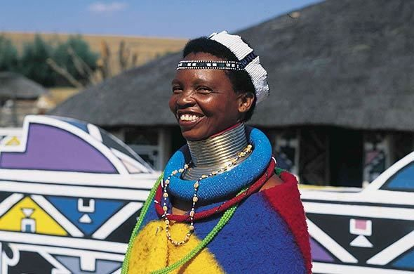 Image result for south african people in cultural dress