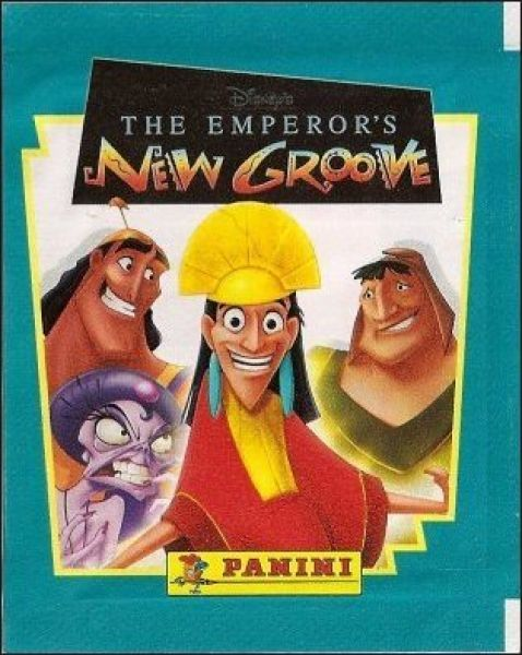 The emperor 39 s new groove disney panini sticker storybook album old school album empereur et - Kuzco dessin anime ...