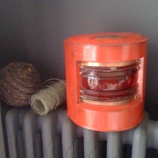 Lanterne de péniche hollandaise