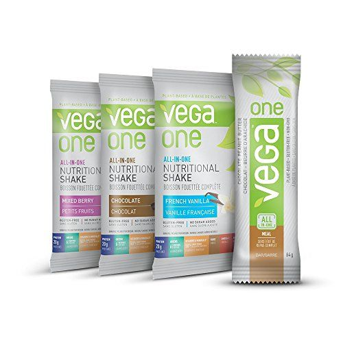 Vega One Nutritional Shake and Bar Variety Pack, 4 Count ... https://www.amazon.ca/dp/B015SCOA8C/ref=cm_sw_r_pi_dp_x_pZQdybTVEE5YS