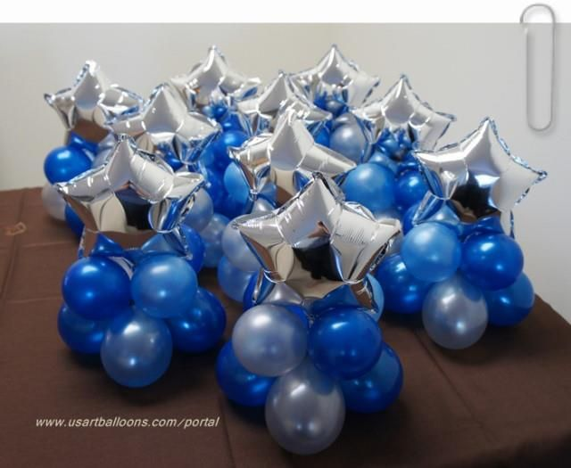 Best 25 balloon centerpieces ideas on pinterest balloon for 7 star balloon decoration