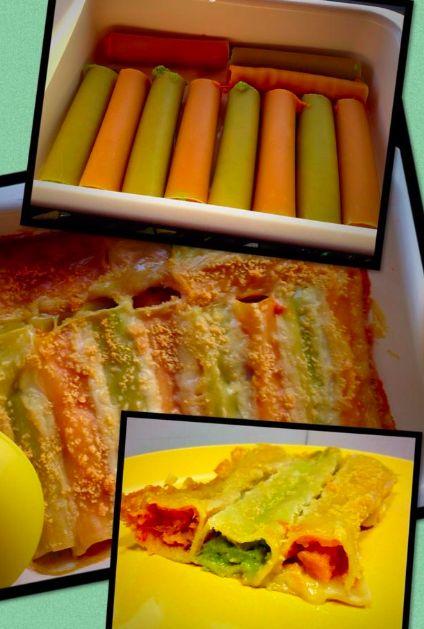 Ecco la foto dei cannelloni in versione zucca e broccoli dalla ricetta di Briciole di Cesca QB: una ventata di coloratissimo autunno sulla tavola di Cri, che l'ha testata e fotografata per noi!  :D