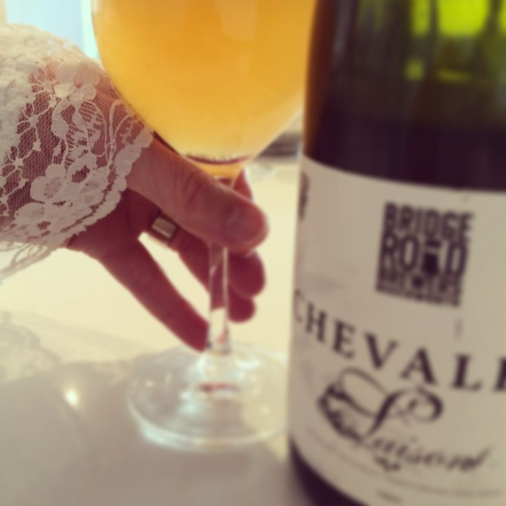 Bridge Road Chevalier Saison... delicate complexity paired with equally delicate lace as seen on www.beerstyle.com.au Beer. Fashion. Music. Art.