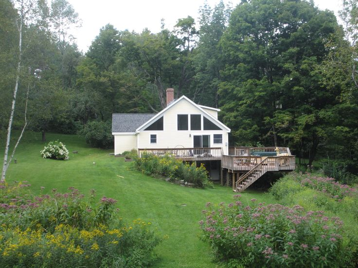 A quaint home in Ludlow, Vermont.