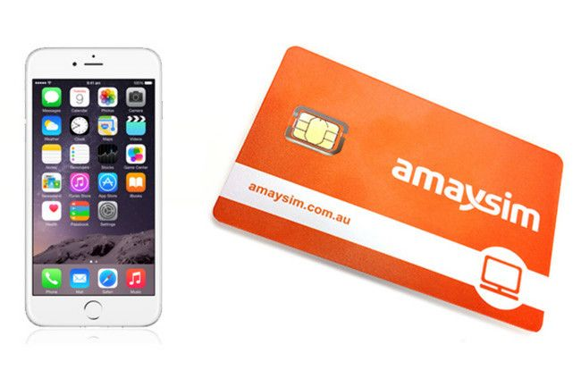 Win an iPhone 6 and 3 months access to amaysim Unlimited 5GB mobile plan
