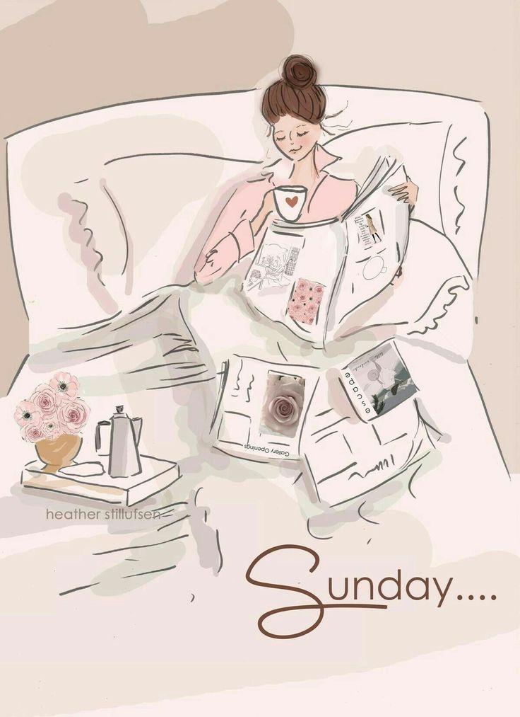 Zondagmorgen... Koffie op bed. :)