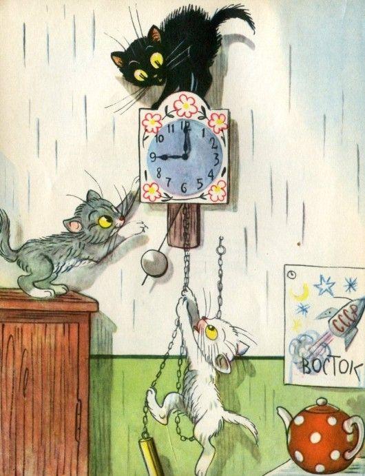 Сутеев Владимир Григорьевич. Иллюстрации к детским книгам. Мультфильмы | СПЛЕТНИК