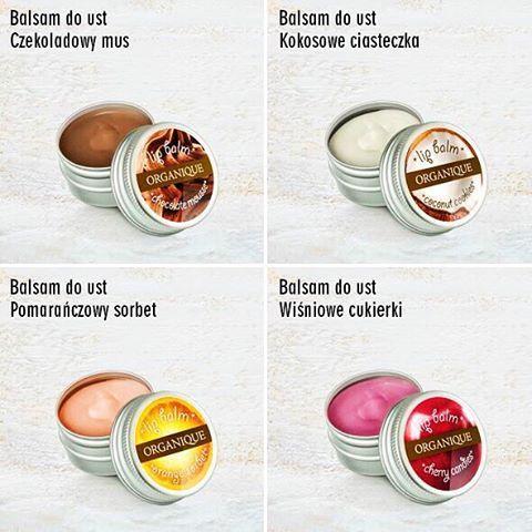 Czekolada, kokos, pomarańcza czy wiśnia? Który jest Waszym faworytem?  #lipbalm #sweet #tasty #natural #bestforwinter #orange #chocolate #cherry #coconut #balsam #organique #organiquecosmetics #cosmetics #polishbrand #polishcosmetics #polskiekosmetyki #wroclaw