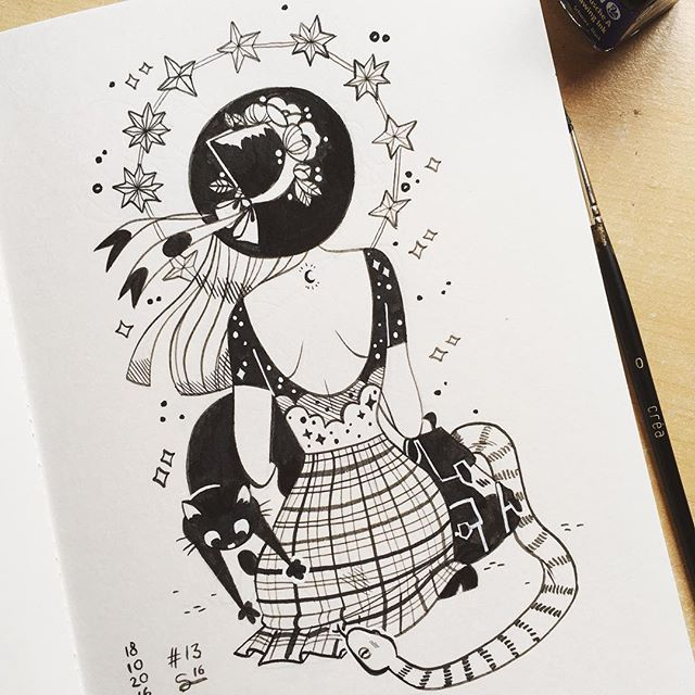 947 Best Witchy: Illustrations Images On Pinterest