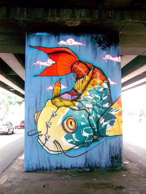 Binho Ribeiro. Street Art. Art. Graffiti. | Art - Street ...