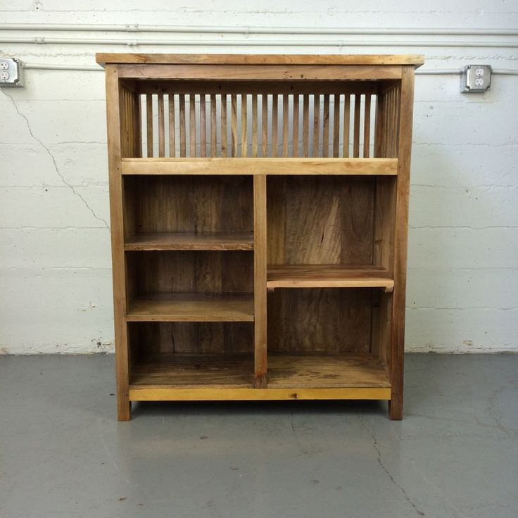 Komodo Shelves, made from salvaged wood found in Indonesia.