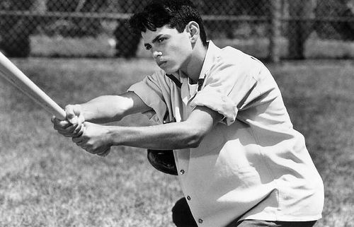 Benny Rodriguez, The Sandlot. Totally one of my first movie crushes.