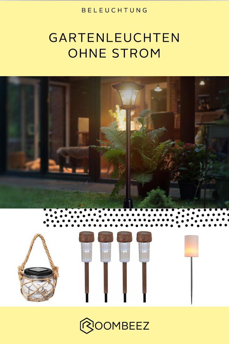 Gartenlampen Ohne Strom Solarlampen Fur Den Garten Otto Gartenlampen Garten Gartenleuchten