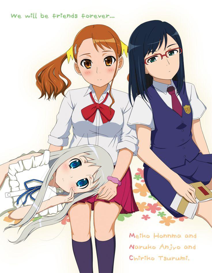 Pin de Michelle Rodríguez em Anohana Anime, Desenho, Manga