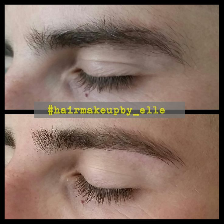 how to fix eyebrows male