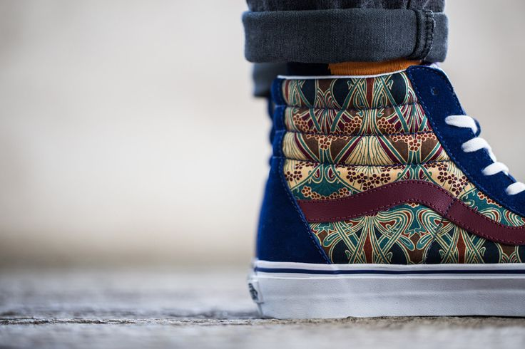 Vans / Holiday / The Liberty Fabric Sk8-Hi. Very luxe.