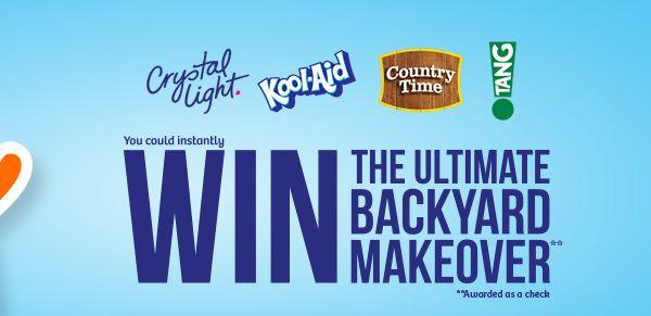$50,000 Backyard Makeover   Backyard makeover, Instant win ...