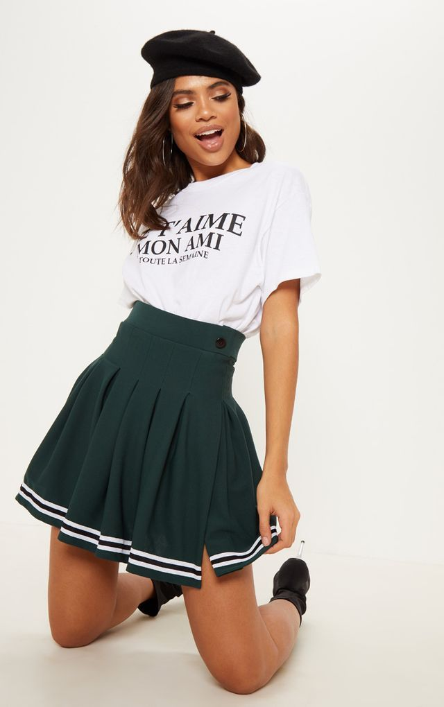 Pin By Sera On Tennis Clothes In 2020 Tennis Skirt Tennis Skirt Outfit Pleated Tennis Skirt