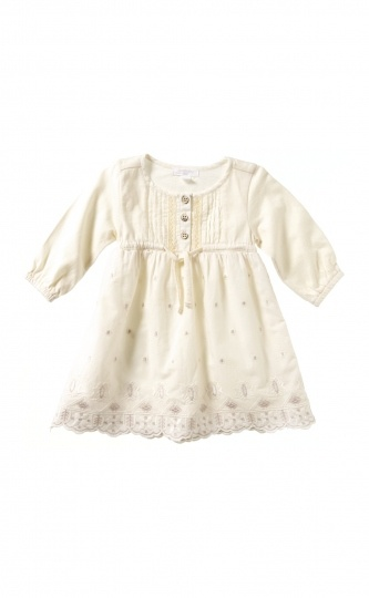 Purebaby size 0 Woven Embroidery Dress