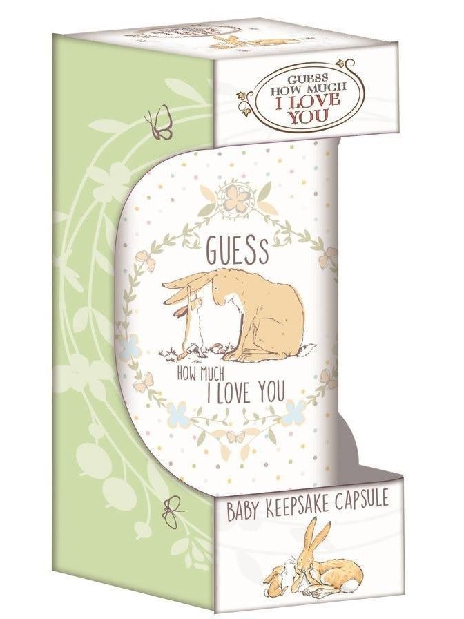 Guess How Much I Love You Keepsake Capsule - perfect as a thoughtful baby gift