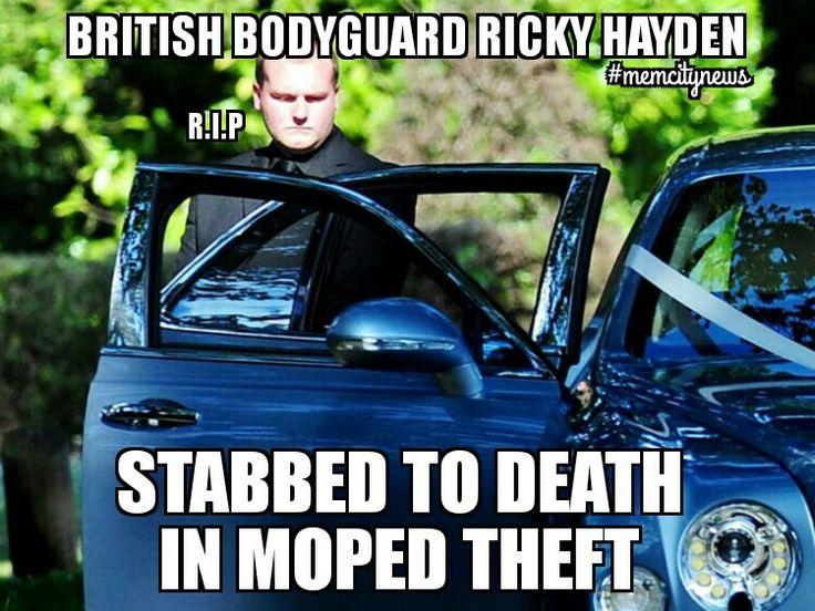 R.I.P Ricky Hayden  http://www.bbc.co.uk/news/uk-england-london-37430819