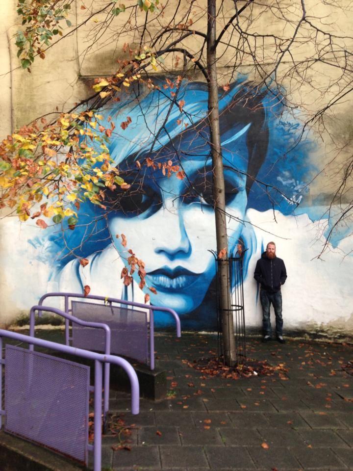 Street Art   by Dermot McConaghy aka DMC